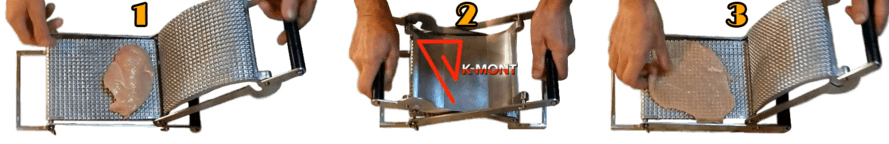 Manual Meat Tenderizer | Modern Meat Press - Fast Cutlet Maker V2 K-MONT